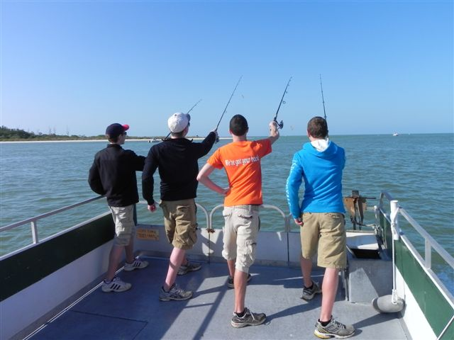 The best fishing charters and dolphin cruises fort myers for Fishing charter fort myers beach fl