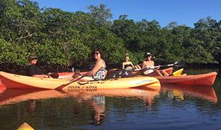 Kayaking on Fort Myers Beach